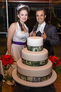 Retro movie-themed wedding