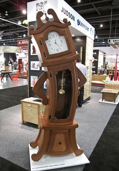 The Sullivan clock by Judson Beaumont - beauty and the beast clock - except i would give it a face :)