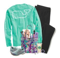 """""""Day 1: Airplane and Island Arrival!"""" by curly-girl16 ❤ liked on Polyvore featuring Madewell, Vineyard Vines, Skullcandy, Lauren Conrad, Topshop, Essie, NARS Cosmetics, Vera Bradley, Chaco and Kate Spade"""