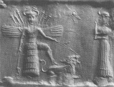 Inanna, Queen.  (Innana( extraterrestrial being-nephilium) who's animal totem was the lion. There are legends of the lion people.....)