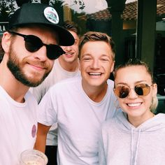 Liam and Miley out in Malibu today. - Liam and Miley out in Malibu today. Chris Hemsworth Muscles, Liam Hemsworth And Miley, Miley And Liam, Happy Hippie Foundation, Famous Last Words, Loreal Paris, Miley Cyrus, A Good Man