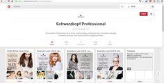De reden waarom Schwazrkopf goed gebruik maakt van Pinterest op communicatief vlak is omdat ze duidelijk aangeven wat je met hun producten kan doen. Duidelijke en concrete communicatie dus! (https://nl.pinterest.com/schwarzkopfpro/)