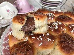 Pretzel Bites, Dolce, Hamburger, Sweet Treats, Bread, Breakfast, Panini, Recipes, Latte