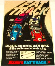 Sizzlers (Hot Wheels) Fat Track