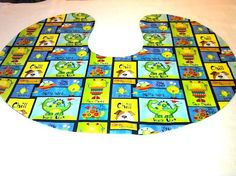 Aliens and Dinos Boppie Pillow Cover by ADashofSouthernCharm, $12.00