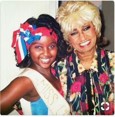 Love them both!  Celia Cruz y Amara la negra