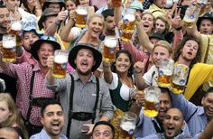 Oktoberfest 2nd to last Saturday in September - First Monday in October