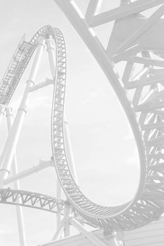 All White Roller Coaster! Ride of your Life! Black And White Aesthetic, All White, Pure White, White Light, White Feed, White Style, Rainbow Aesthetic, Aesthetic Colors, Aesthetic People