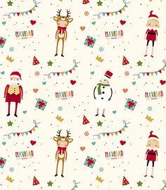Imagen de producto: Modelo nº 746: Trama navideña para turrón Merry Christmas And Happy New Year, Vintage Christmas, Christmas Holidays, Xmas, Cute Christmas Wallpaper, Christmas Background, Christmas Sheets, Illustration Art Drawing, Christmas Drawing