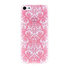 Rose Flowers Pattern PC Hard Case for iPhone 5C  – USD $ 2.99