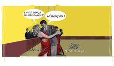 Dança ou não dança ? | Humor Político