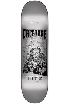 Hitz Plague Skateboard Deck by Creature