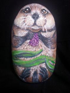 Painted Rock Sea Otter