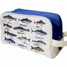 Make sure he packs all of his toiletries in this quirky Fishing Wash Bag Woven Laundry Basket, Laundry Bin, Laundry Hamper, Bamboo Cabinets, Laundry Center, Fish Design, Travel Companies, Hazelwood Home, Wash Bags