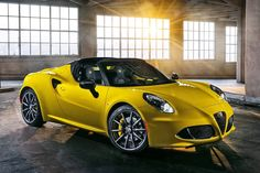Image for Alfa Romeo 4C Spider 2015 Wallpapers