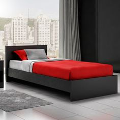 Stellar Home Furniture Noah Twin Platform Bed 275