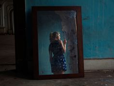TylerShields.com Tyler Shields, Girl Interrupted, One Image, Artist, Photography, Painting, Blue, Photograph, Artists