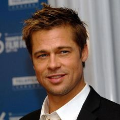 awesome 60 Charming Brad Pitt Hairstyles - Many Stylish Ideas Brad Pitt Haarschnitt, Brad Pitt Photos, Short Spiky Hairstyles, Celebrity Hairstyles, Short Hair Cuts, Anthony Kiedis, Richard Gere, Mike Tyson, Sienna Miller