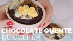 CHOCOLATE QUENTE DE COLHER (chocolate quente Italiano) 🌸 Bellaria Chocol...