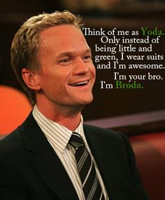 How I Met Your Mother + Star Wars reference = super awesome
