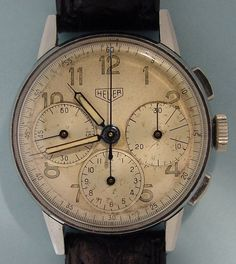 Heuer 1940 Chronograph | Time for a new watch | Pinterest