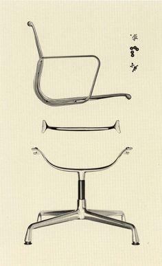 The Eames Aluminum Group by Vitra #vitra