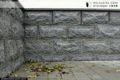 Natursten - Murbeklädnad - Klä in sockel eller mur med granit - Molnsätra