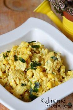 Sałatka ryżowa z curry i kurczakiem – czyli pyszna i łatwa w wykonaniu żółta sałatka :) Idealna na imprezę, czy jako drugie śniadanie do pracy. Sałatka ryżowa z curry i kurczakiem – Składniki: 150g ryżu 1 duży filet piersi z kurczaka (ok. 300g) 1 puszka kukurydzy (220g po odsączeniu) 1 puszka ananasów w plastrach (340g […] Salad Recipes, Vegan Recipes, Clean Eating, Healthy Eating, Food Inspiration, Italian Recipes, Macaroni And Cheese, Meal Prep, Food Porn