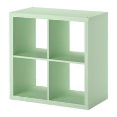 KALLAX Shelving unit - light green - IKEA