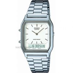 Mens Casio Classic Alarm Chronograph Watch AQ-230A-7DMQYES