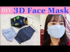 face mask diy 마스크 kf itself may mask simple art tha. Sewing Tutorials, Sewing Hacks, Sewing Projects, Knitting Projects, Easy Face Masks, Diy Face Mask, Techniques Couture, Sewing Techniques, Mascara 3d