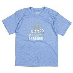Thalia Surf Summer Is Calling Kids Tee