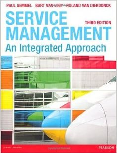 This book provides an insight into the industry and its importance in today's economies. The book is based on three central strands of services management: customers, employees and operations. The final part of the book addresses the issue of performance management and service strategy. The authors have produced in-depth case studies and survey research to help students to develop a thorough understanding of the specific challenges and issues of service management today.  Cote: 6-62 GEM