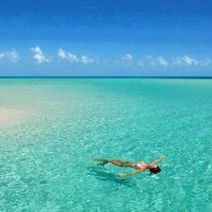 Relaxing in the Maldives