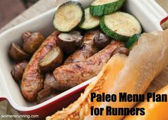 7-Day Paleo Menu Plan for Runners! - Women's Running