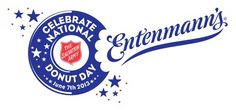 Entenmann's and the Salvation Army have partnered just in time for Doughnut Day {Giveaway} - 2 Boys + 1 Girl = One Crazy Mom Army Usa, National Donut Day, First Friday, Crazy Mom, June, Doughnut, Krispy Kreme, 2 Boys