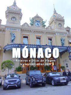 Visitar Mónaco: roteiros, guia de melhores destinos para viajar, fotos, transportes, alojamento, restaurantes, dicas de viagem e mapas. http://mundodeviagens.com/ - Existem muitas maneiras de ver o Mundo. O Blog Mundo de Viagens recomenda... TODAS!