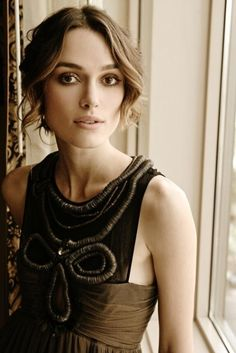Keira Knightley, my favorite actress.