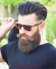 Long Beard Styles, Beard Styles For Men, Hair And Beard Styles, Beard Look, Sexy Beard, Epic Beard, Mens Facial, Facial Hair, Hairstyles Haircuts
