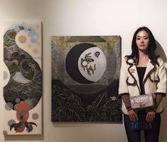 Exhibition #exhibition #painting #drawing  #art #profil #artwork #sophiakim  #landscape #ambient #nature #mind #zen #artsy #nature #그림 #풍경 #예술 #작업 #wave #line #illust #design #studio #얼스타그램 #일상