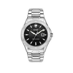 Men's Citizen Eco-Drive™ Signature Octavia Perpetual Watch with Black Dial (Model: BL1270-58E)