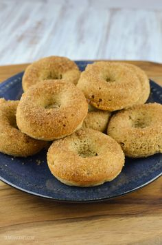 Wow look at theseSlimming World Baked Banana Doughnuts!!! Since I finally got my doughnut tray last week I have been enjoying making delicious doughnuts for treats. So far you will of seen my yummy White Chocolate Glazed Doughnuts and my Chocolate Doughnuts. I then came across this delicious recipe for Baked Banana Doughnuts from An...Read More »