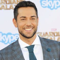 Zachary Levi in Film Premiere of Guardians of the Galaxy