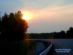 Evening Sunset over Highway 62 in Foxboro Ontario