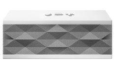White Platinum Jambox by Jawbone Bluetooth Speakers, Technology Gadgets, Cool Stuff, Mini, Selfish, Industrial Design, Therapy, Inspire, Studio