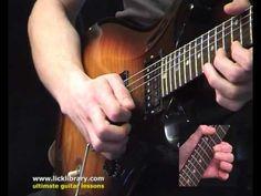 Guthrie Govan - Sweep Picking Guitar Lesson Intro - Guthrie Govan Techni...
