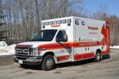 Wakefield Fire - Rescue (NH) Ambulance 1    http://setcomcorp.com/pse.html