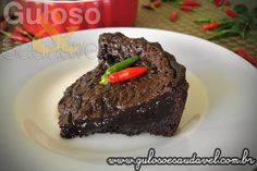 Torta de Chocolate com Pimenta » Receitas Saudáveis, Tortas e Bolos » Guloso e Saudável