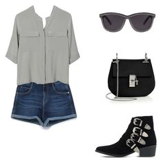 """""""Saturday."""" by roci28 ❤ liked on Polyvore featuring Zara, PYRUS, Toga, Chloé and Alexander Wang"""