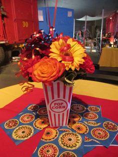 Circus themed centerpiece - Beneva Flowers - Sarasota, FL